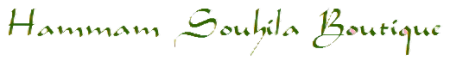 Logo Hammam Souhila boutique